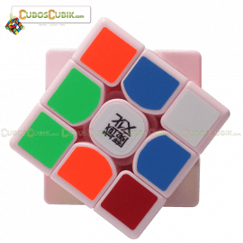 Cubos Rubik Moyu Weilong GTS 3x3 Base Rosa