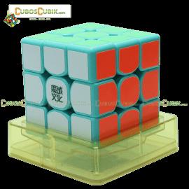 Cubos Rubik Moyu Weilong GTS 3x3 Base Verde