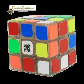 Cubos Rubik Moyu Weilong V2 3x3 Base Transparente