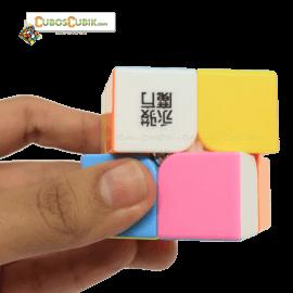 Cubos Rubik YJ Yupo 2x2 Pink PROMOCIÓN ESPECIAL