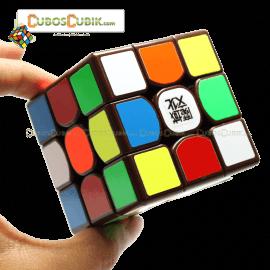 Cubos Rubik Moyu Weilong GTS 3x3 Base Café
