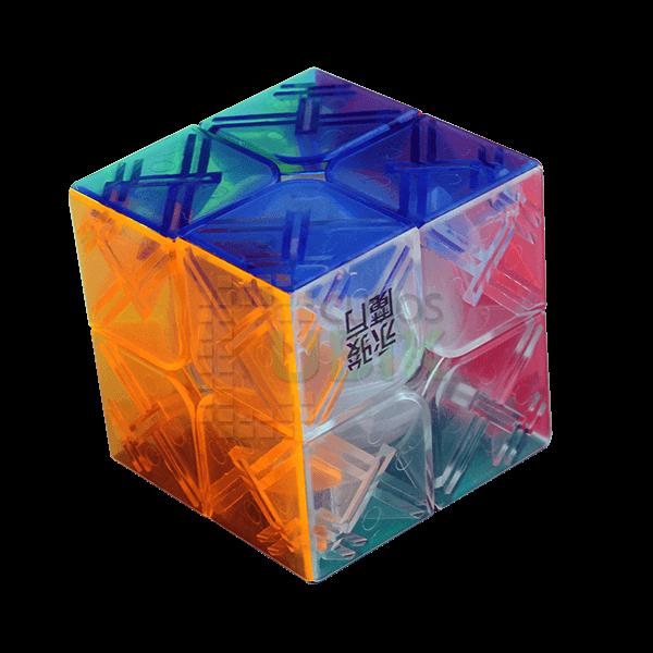 Cubos Rubik YJ Yupo 2x2 Trasparente