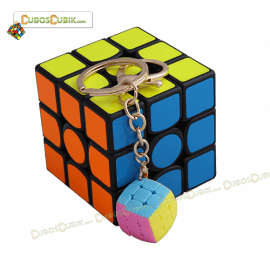 Cubos Rubik YJ Moyu Mini 3x3 2 cm Llavero