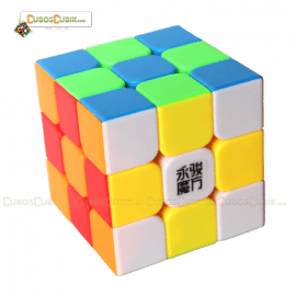 Cubos Rubik YJ Moyu Yulong 3x3 Colored CS