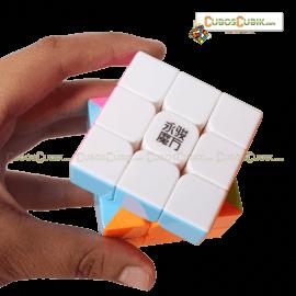 Cubos Rubik YJ Moyu Yulong 3x3 Colored Pink Ed