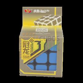 Cubos Rubik YJ Moyu Guanlong V3 Base Negra