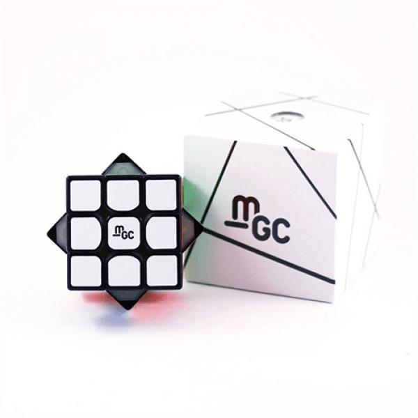 Cubos Rubik YJ Moyu MGC 3x3 Magnético Negro