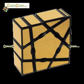 Cubos Rubik YJ MoYu Ghost 3x3x1 Dorado