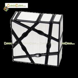 Cubos Rubik YJ MoYu Ghost 3x3x1 Plata