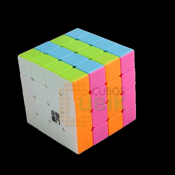 Cubos Rubik YJ Moyu YuSu 4x4 Pink