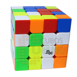 Cubos Rubik YJ Moyu MGC 4x4 Magnético Colored