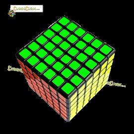 Cubos Rubik YJ Moyu Guanshi 6x6 Negro