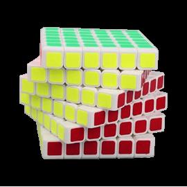 Cubos Rubik YJ Moyu Guanshi 6x6 Blanco