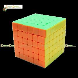 Cubos Rubik YJ Moyu YuShi 6x6 Colored