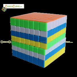 Cubos Rubik YJ Moyu YuFu 7x7 Colored
