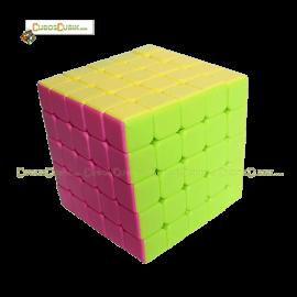 Cubos Rubik Moyu YuChuang 5x5 Colored Pink