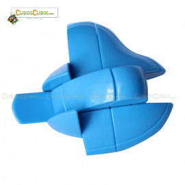 Cubos Rubik Forma Corazon 3x3 Azul
