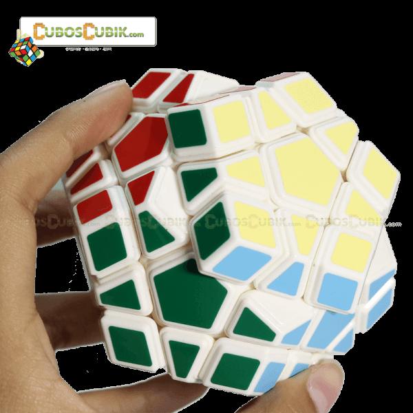 Cubos Rubik MoYu Megaminx GuanHu Base Blanca