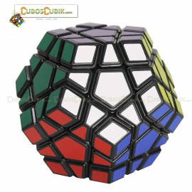 Cubos Rubik MoYu Megaminx GuanHu Base Negra