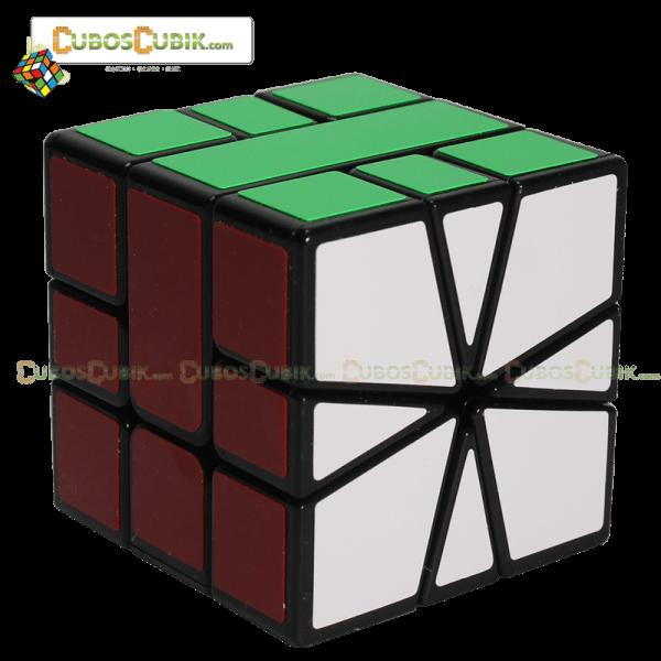 Cubos Rubik YJ Moyu Guanlong Square 1 Base Negra