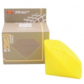Cubos Rubik YJ Moyu 3x3 Diamond Amarillo