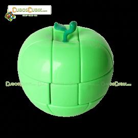 Cubos Rubik YJ Moyu Manzana 3x3 Verde