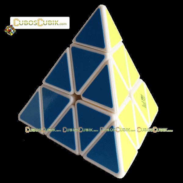 Cubos Rubik Moyu Pyraminx Yulong Base Blanca
