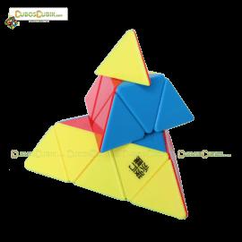 Cubos Rubik Moyu Pyraminx Yulong Colored