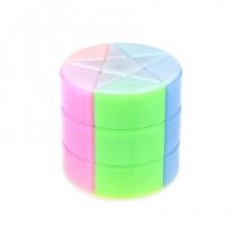 Cubos Rubik YJ Colorful Star Barrel Transparente
