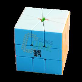 Cubos Rubik YJ Moyu Yulong Square 1 Colored