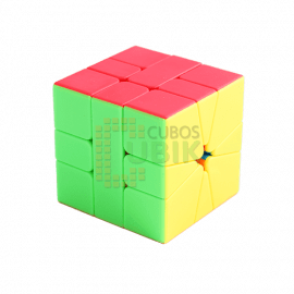 Cubos Rubik YJ Moyu Yulong Square 1 Colored
