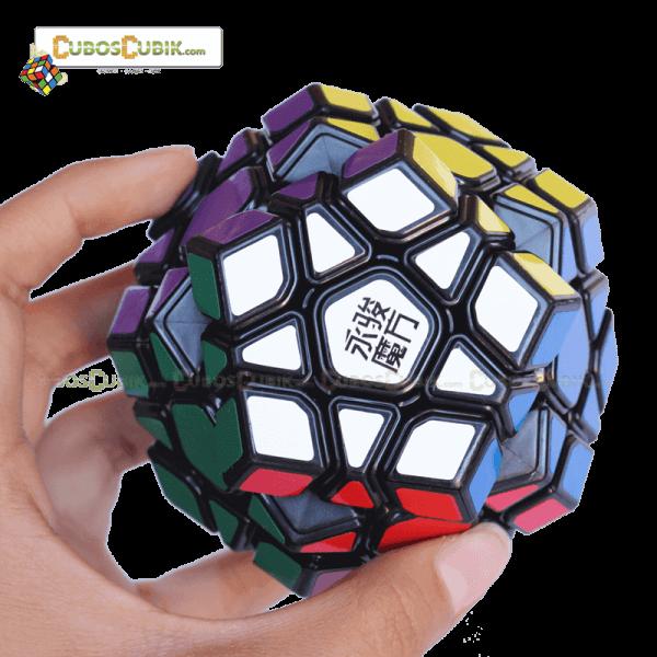 Cubos Rubik MoYu Megaminx YuHu Base Negra
