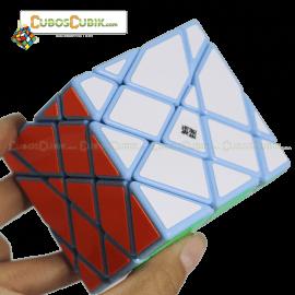 Cubos Rubik Moyu AoSu Axis 4x4 King Kong Base Azul