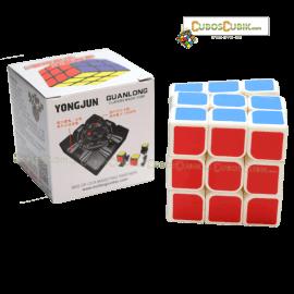 Cubos Rubik YJ Moyu Guanlong Base Blanca