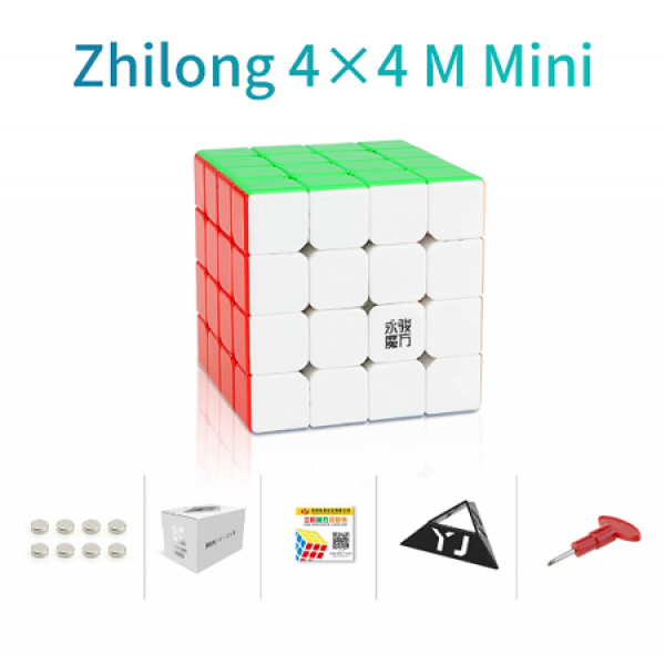 Cubos Rubik YJ Zhilong Mini 4x4 M Colored