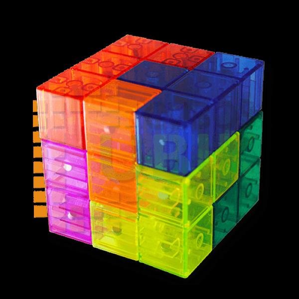 Cubos Rubik YJ Magnets Block Transparente (Soma)