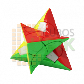 Cubos Rubik YJ Petal Pyraminx Colored