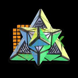 Cubos Rubik YJ Yulong Pyraminx v2 M Negro