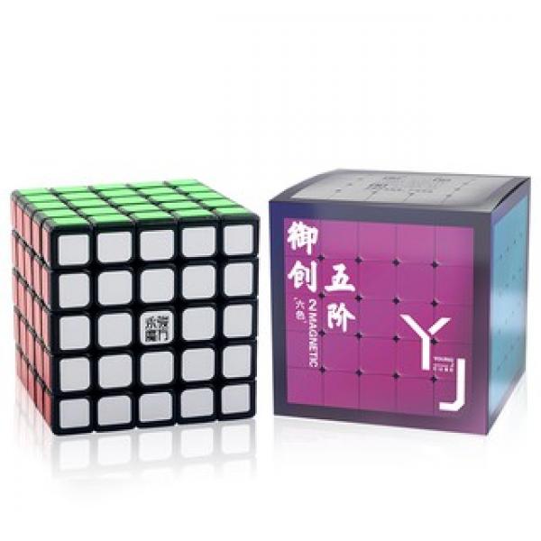 Cubos Rubik YJ Yuchuang 5x5 V2 M Negro
