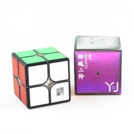 Cubos Rubik YJ Yupo 2x2 V2 M Negro
