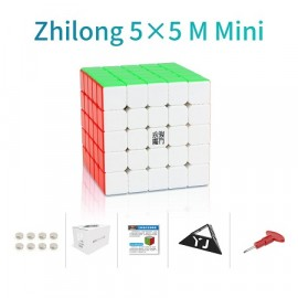 Cubos Rubik YJ Zhilong Mini 5x5 M Colored