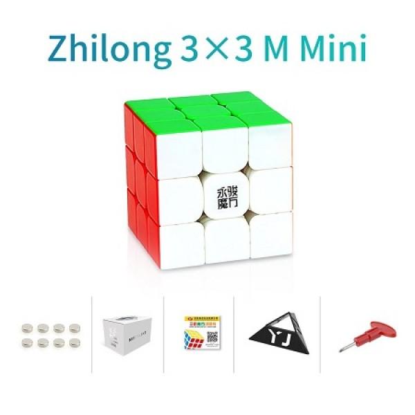 Cubos Rubik YJ Zhilong Mini 3x3 M Colored