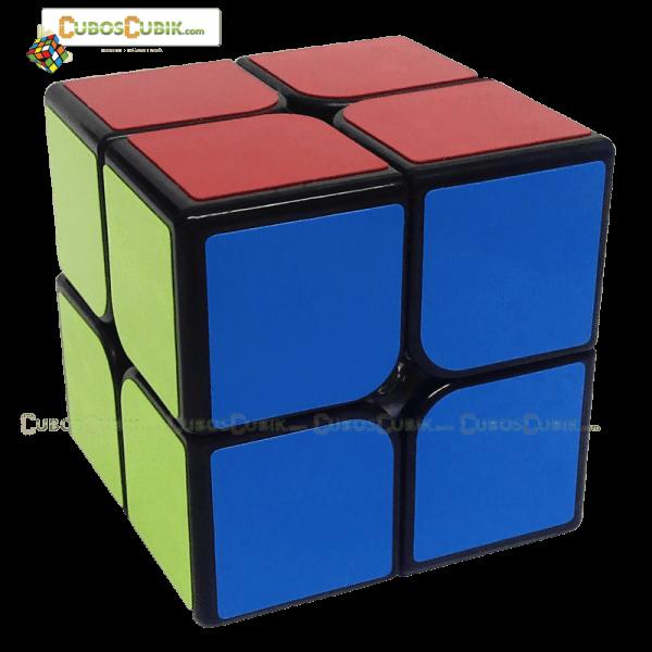 Cubos Rubik YJ Guanpo 2x2 Base Negro