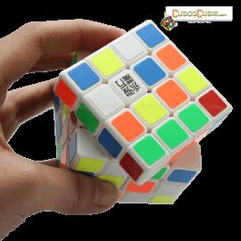 Cubos Rubik YJ Moyu GuanSu 4x4 Blanco