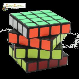 Cubos Rubik YJ Moyu GuanSu 4x4 Negro