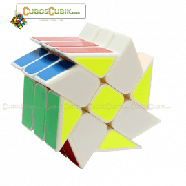 Cubos Rubik Yj Moyu Wind Fire Rings Base Blanca