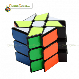 Cubos Rubik Yj Moyu Wind Fire Rings Base Negro