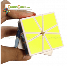 Cubos Rubik YJ Moyu Guanlong Square 1 Base Blanca