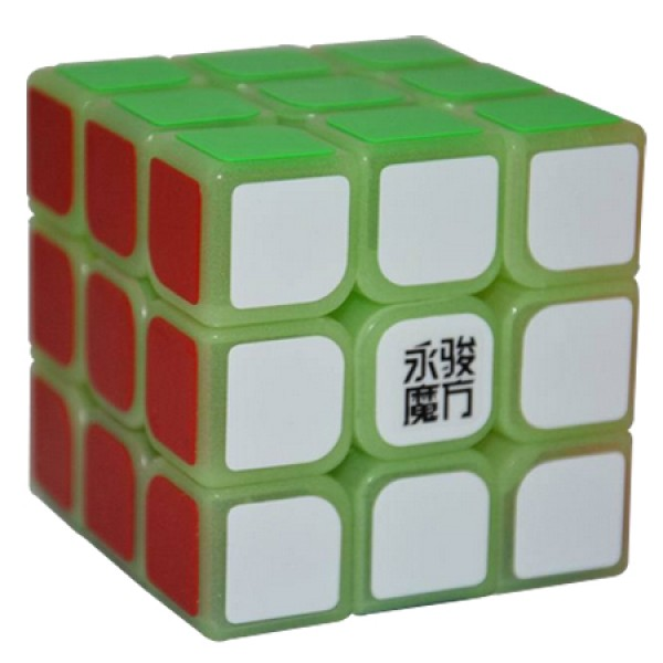 Cubos Rubik YJ Moyu 3x3 Sulong Fotoluminoso