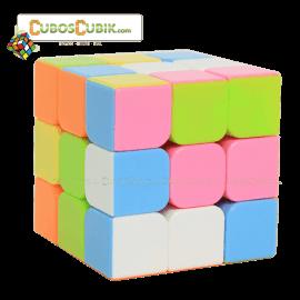 Cubos Rubik YJ Moyu Guanlong Pink